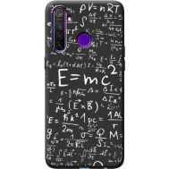 Силиконовый чехол BoxFace Realme 5 Pro E=mc2 (40048-bk65)