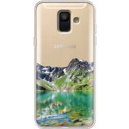 Силиконовый чехол BoxFace Samsung A600 Galaxy A6 2018 Green Mountain (35015-cc69)