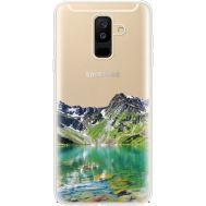 Силиконовый чехол BoxFace Samsung A605 Galaxy A6 Plus 2018 Green Mountain (35017-cc69)