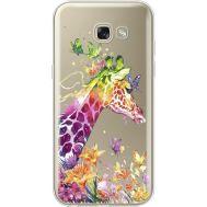Силиконовый чехол BoxFace Samsung A520 Galaxy A5 2017 Colorful Giraffe (35047-cc14)