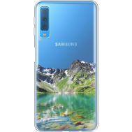 Силиконовый чехол BoxFace Samsung A750 Galaxy A7 2018 Green Mountain (35483-cc69)