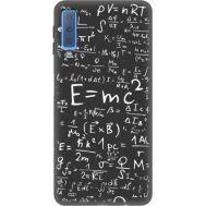 Силиконовый чехол BoxFace Samsung A750 Galaxy A7 2018 E=mc2 (35597-bk65)