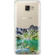 Силиконовый чехол BoxFace Samsung A710 Galaxy A7 Green Mountain (35683-cc69)