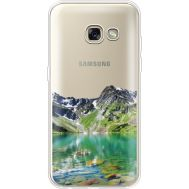 Силиконовый чехол BoxFace Samsung A320 Galaxy A3 2017 Green Mountain (35989-cc69)