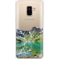 Силиконовый чехол BoxFace Samsung A730 Galaxy A8 Plus (2018) Green Mountain (35992-cc69)