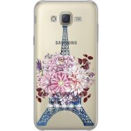 Силиконовый чехол BoxFace Samsung J700H Galaxy J7 Eiffel Tower (934980-rs1)