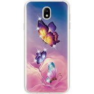 Силиконовый чехол BoxFace Samsung J730 Galaxy J7 2017 Butterflies (935020-rs19)