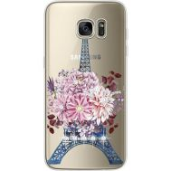 Силиконовый чехол BoxFace Samsung G935 Galaxy S7 Edge Eiffel Tower (935048-rs1)
