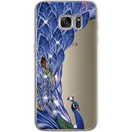 Силиконовый чехол BoxFace Samsung G935 Galaxy S7 Edge Peafowl (935048-rs7)