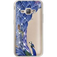 Силиконовый чехол BoxFace Samsung J120H Galaxy J1 2016 Peafowl (935052-rs7)
