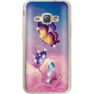 Силиконовый чехол BoxFace Samsung J120H Galaxy J1 2016 Butterflies (935052-rs19)