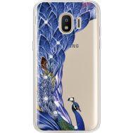 Силиконовый чехол BoxFace Samsung J250 Galaxy J2 (2018) Peafowl (935055-rs7)