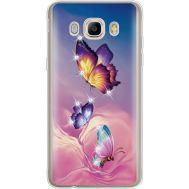 Силиконовый чехол BoxFace Samsung J710 Galaxy J7 2016 Butterflies (935060-rs19)