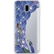 Силиконовый чехол BoxFace Samsung J610 Galaxy J6 Plus 2018 Peafowl (935459-rs7)