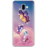 Силиконовый чехол BoxFace Samsung J610 Galaxy J6 Plus 2018 Butterflies (935459-rs19)