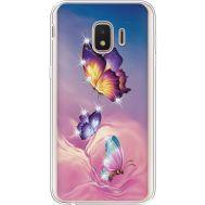 Силиконовый чехол BoxFace Samsung J260 Galaxy J2 Core Butterflies (935464-rs19)