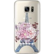 Силиконовый чехол BoxFace Samsung G930 Galaxy S7 Eiffel Tower (935495-rs1)