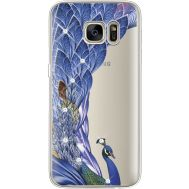Силиконовый чехол BoxFace Samsung G930 Galaxy S7 Peafowl (935495-rs7)