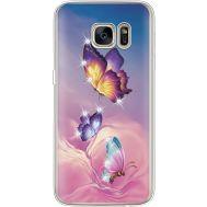 Силиконовый чехол BoxFace Samsung G930 Galaxy S7 Butterflies (935495-rs19)