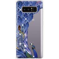 Силиконовый чехол BoxFace Samsung N950F Galaxy Note 8 Peafowl (935949-rs7)