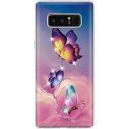 Силиконовый чехол BoxFace Samsung N950F Galaxy Note 8 Butterflies (935949-rs19)