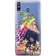 Силиконовый чехол BoxFace Samsung M305 Galaxy M30 Colorful Giraffe (36974-cc14)