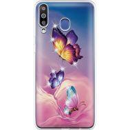 Силиконовый чехол BoxFace Samsung M305 Galaxy M30 Butterflies (936974-rs19)