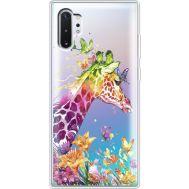 Силиконовый чехол BoxFace Samsung N975 Galaxy Note 10 Plus Colorful Giraffe (37687-cc14)