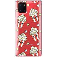 Силиконовый чехол BoxFace Samsung N770 Galaxy Note 10 Lite с 3D-глазками Popcorn (38846-cc75)