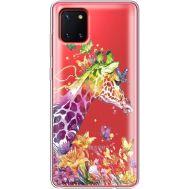 Силиконовый чехол BoxFace Samsung N770 Galaxy Note 10 Lite Colorful Giraffe (38846-cc14)