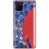 Силиконовый чехол BoxFace Samsung N770 Galaxy Note 10 Lite Peafowl (38846-rs7)