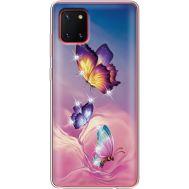 Силиконовый чехол BoxFace Samsung N770 Galaxy Note 10 Lite Butterflies (38846-rs19)