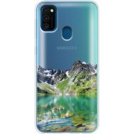 Силиконовый чехол BoxFace Samsung M215 Galaxy M21 Green Mountain (39466-cc69)
