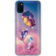 Силиконовый чехол BoxFace Samsung M215 Galaxy M21 Butterflies (939466-rs19)
