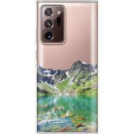 Силиконовый чехол BoxFace Samsung N985 Galaxy Note 20 Ultra Green Mountain (40574-cc69)