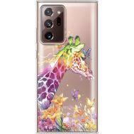Силиконовый чехол BoxFace Samsung N985 Galaxy Note 20 Ultra Colorful Giraffe (40574-cc14)