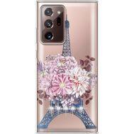 Силиконовый чехол BoxFace Samsung N985 Galaxy Note 20 Ultra Eiffel Tower (940574-rs1)