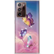 Силиконовый чехол BoxFace Samsung N985 Galaxy Note 20 Ultra Butterflies (940574-rs19)