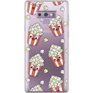 Силиконовый чехол BoxFace Samsung N960 Galaxy Note 9 с 3D-глазками Popcorn (34974-cc75)