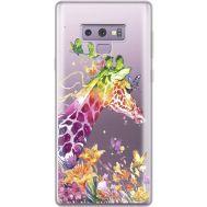 Силиконовый чехол BoxFace Samsung N960 Galaxy Note 9 Colorful Giraffe (34974-cc14)