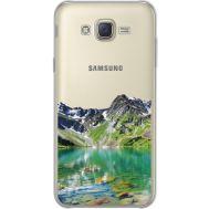 Силиконовый чехол BoxFace Samsung J700H Galaxy J7 Green Mountain (34980-cc69)