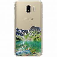 Силиконовый чехол BoxFace Samsung J400 Galaxy J4 2018 Green Mountain (35018-cc69)