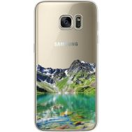 Силиконовый чехол BoxFace Samsung G935 Galaxy S7 Edge Green Mountain (35048-cc69)