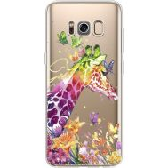 Силиконовый чехол BoxFace Samsung G950 Galaxy S8 Colorful Giraffe (35049-cc14)