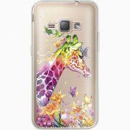 Силиконовый чехол BoxFace Samsung J120H Galaxy J1 2016 Colorful Giraffe (35052-cc14)