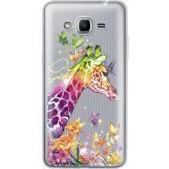 Силиконовый чехол BoxFace Samsung J2 Prime Colorful Giraffe (35053-cc14)