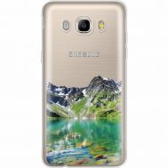 Силиконовый чехол BoxFace Samsung J710 Galaxy J7 2016 Green Mountain (35060-cc69)