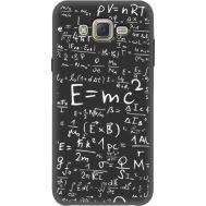 Силиконовый чехол BoxFace Samsung J700H Galaxy J7 E=mc2 (35121-bk65)