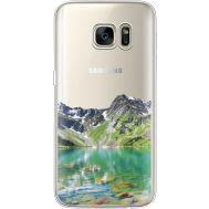 Силиконовый чехол BoxFace Samsung G930 Galaxy S7 Green Mountain (35495-cc69)