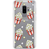 Силиконовый чехол BoxFace Samsung G965 Galaxy S9 Plus с 3D-глазками Popcorn (35749-cc75)
